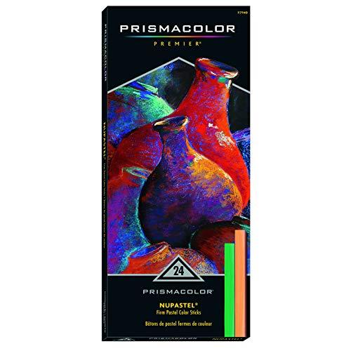 Prismacolor Set, 24-Colors Nupastels, Count
