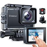 Crosstour Native 4K 50FPS Écran Tactile Caméra Sport 20MP Supérieur Anti-Shake Time-Lapse LDC 40M...