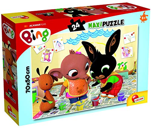 Lisciani Giochi Bing Puzzle Supermaxi 24 Art Attack