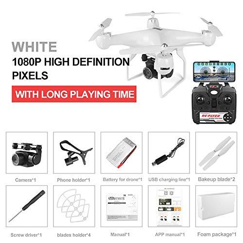 LIGUANGWEN Drone 1080P plastica USB 90 Gradi Telecamera Aerea Adatto a Movimento Difficile fuco