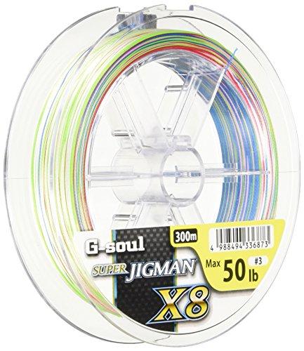 よつあみ(YGK) PEライン リアルスポーツ G-soul スーパージグマンX8 300m 4号 60Lb 8本 5色