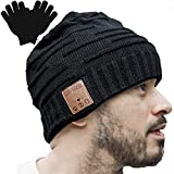 Upgraded Unisex Knit Bluetooth Beanie Winter Music Hat Headphones V4.2 w/Built-in Stereo Speaker...