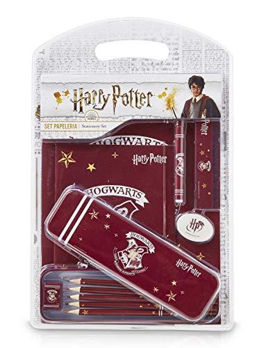 HARRY POTTER Gadget Scuola, Meraviglioso Set di Cartoleria Hogwarts, 12 Articoli di Cancelleria per...