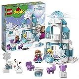LEGO-DUPLO Disney Princess Le château de la Reine des neiges Jouet pour Tout Petits Fille et Garçon dès 2 Ans, 59 Pièces de Construction 10899