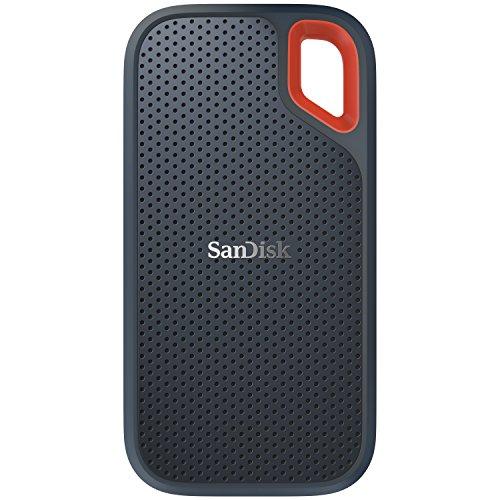 SanDisk ポータブルSSD  500GB 【PS4 メーカー動作確認済】 USB3.1 Gen2 防滴 耐振 耐衝撃 SDSSDE60-500G-J...