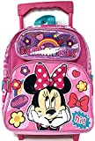 Disney Minnie Mouse Shine 12' Toddler Mini Rolling Backpack 3-5yrs
