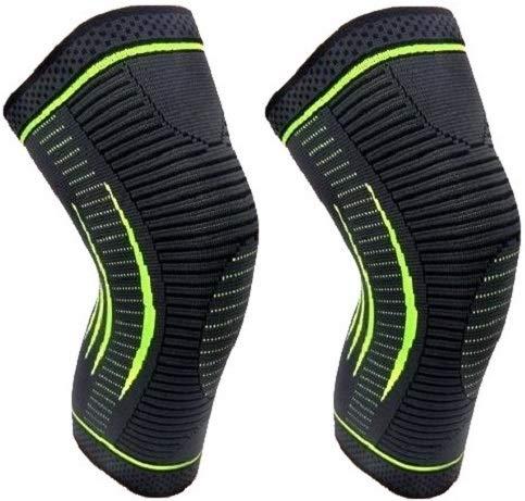 FEGSY Knee Cap for Men Sports Knee Brace for Knee Pain, Gym, and Running for Men and Women (Medium)