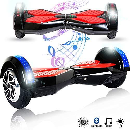 Magic Vida 8'' Self Balance Scooter Elettrico in Offerta Bluetooth con LED Auto bilanciamento...