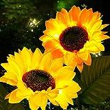 Outdoor Solar Sunflower...image