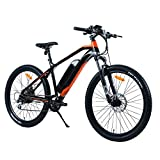 Electric Bike ebike City/Mountain Cycling Sportsman Style Brushless Rear Motor with LED Display