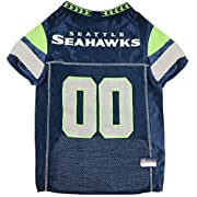 BEST SELLER PET JERSEY: This NFL Jersey for DOGS & CATS has quickly become a top seller on Amazon! – Thanks to you for your support! – Thanks to Pets First for an exceptional CUTE PET OUTFIT designed by PROFFESIONAL AMERICAN FASHION DESIGNERS! OFFICI...