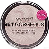 Technic Get Gorgeous, Highlighting Powder, Rosa claro