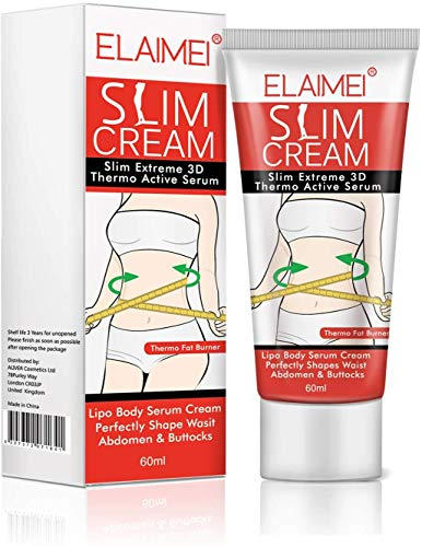 Hot Cream, Slimming Cellulite Firming Cream, Body Fat Burning building Massage Gel Weight Losing for Shaping Waist, Abdomen and Buttocks - 60ml 1