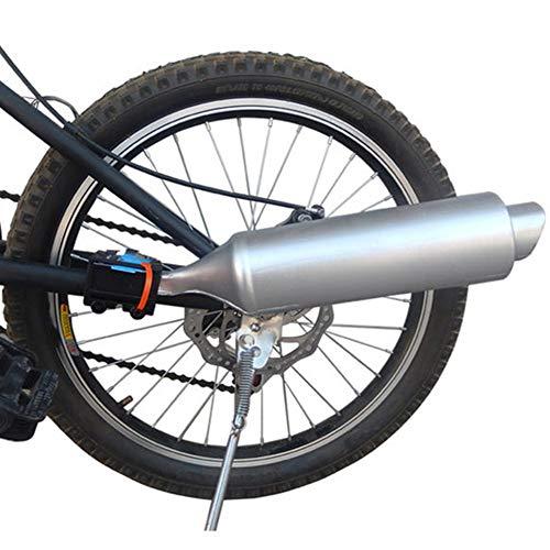 FADDR - Tubo di scarico per bicicletta, con effetto rumoroso, 35 x 7,5 cm (come da immagine)