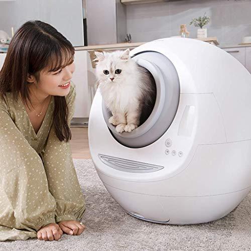 Selbstreinigende Katzentoilette, Komplett Geschlossene Automatische...