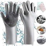 Homga Gants en Silicone, Magic Gloves Gants de Rinçage en...