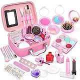Dreamon Maquillage Enfant Jouet pour Fille, Kit de Makeup Lavable Enfant Non...