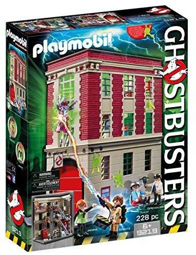 Playmobil Ghostbusters 9219 - Caserma dei Ghostbusters, dai 4 anni