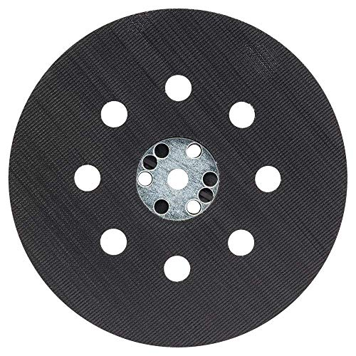 Plato de lijado con velcro de 125 mm de diámetro, adecuado para lijadora excéntrica, disco de pulido, disco de velcro, lijadora excéntrica profesional.