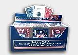 Bicycle Lot de 12 jeux de cartes standard bleu et rouge par US Playing Cards...