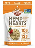 Manitoba Harvest Hemp Hearts Shelf Stable Hemp Seeds, 1lb; with 10g Protein & 12g Omegas per Serving, Keto, Gluten Free, Vegan, Whole 30, Paleo, Non-GMO
