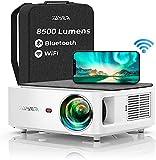 Proyector WiFi Bluetooth 1080P, YABER 8500 Lúmenes Proyector WiFi Full HD 1080P Nativo Soporta 4K,...