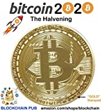Gold Bitcoin 2020 Commemorative Celebrate The Bitcoin HALVENING!