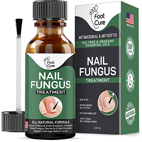 Extra Strong Nail Fungus Treatment -Made in USA, Nail Repair Set, Stop Fungal Growth, Effective Fingernail & Toenail Health Care Solution, Fix & Renew Damaged, Broken, Cracked & Discolored Nails