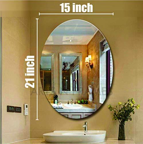Creative Arts n Frames 15 x 21 inch Wall Mirror for Bathroom, Bedroom, Drawing Room and Wash Basin...