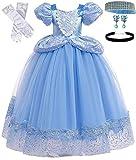 Romy's Collection Princess Cinderella Dress (3-4, Blue)