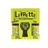 Coffret Levrette Blonde 2 bouteilles + 1verre