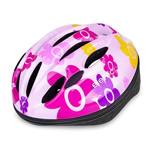 ヘルメット 子供用 EletecPro 自転車 ヘルメット キッズ 幼児 軽量 スポーツヘルメット 48-59cm