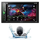 Pioneer AVH-210EX 6.2' 2-Din Bluetooth Touchscreen Multimedia DVD Receiver w/Back up Camera