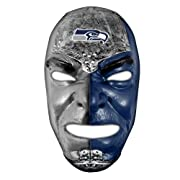 SHOW YOUR PRIDE: These NFL fan face masks are a great way to rep your team at the game, at the tailgate, or anywhere else you watch! ONE SIZE FITS ALL: The adjustable elastic band and flexible PVC gives this mask a comfortable fit for all fans EXTRA ...