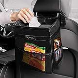 HOTOR Car Trash Can - Multifunctional Car Organizer for Storage & Trash, Large Car Trash Bin with...