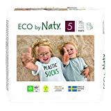 Couches-culottes Eco by Naty, Taille 5, 20 couches, 12-18 kg,...