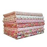 LUFA Tela de algodón 7pcs / Set para el Tejido de Costura de Costura de Tejido de remiendos de casa...