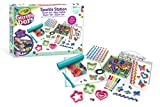 Crayola Glitter Dots - Sparkle Station Super Set, per Creare Scintillanti Decorazioni con il Glitter Modellabile, 04-1085