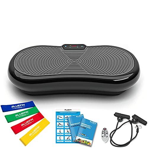 Bluefin Fitness Ultra Slim Power Vibrationsplatte | Fett verlieren und Fitnesstraining von Zuause | 5...