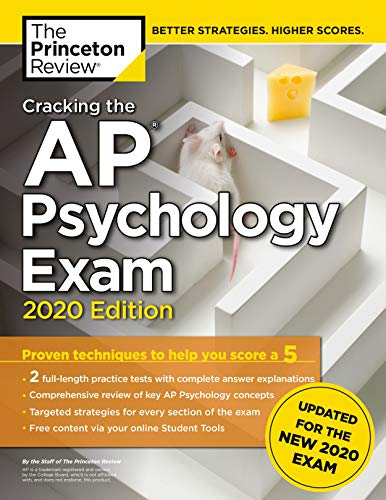 Cracking the AP Psychology Exam, 2020 Edition: Practice...