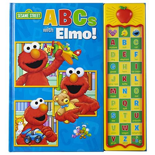 Sesame Street - ABCs with Elmo! 30 Button Sound Book - PI...