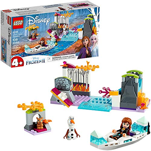 LEGO Disney Frozen II Anna's Canoe Expedition 41165 Frozen Adventure Easy Building Kit (108 Pieces)