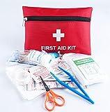 Blesser Trousse Premier Secours Voyage Voiture Entreprise Maison Complet First Aid Kit, Couverture...