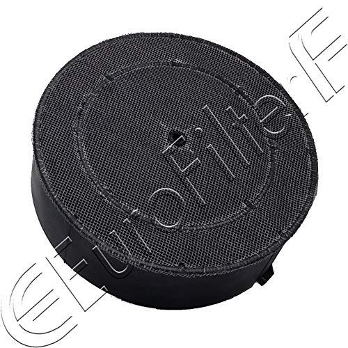 Euro Filter FKS2000 Filtro Cappa Carbone Attivo ELICA TURBOAIR FIM KAPPE GALVAMET Diametro 16 cm...