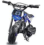 Fit Right 2020 DB002 51CC 2-Stroke Kids Dirt Off Road Mini Dirt Bike, Kid Gas Powered Dirt Bike Off...