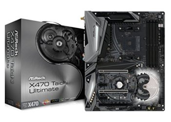 ASROCK AMD X470Chip Set ATX Motherboard X470Taichi Ultimate