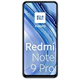 "Xiaomi Redmi Note 9 Pro Smartphone, 6 GB + 128 GB, 6.67"" DotDisplay, 64 MP AI Quad Camera, 5020mAh (typ) NFC, Grigio (Interstellar Grey)"