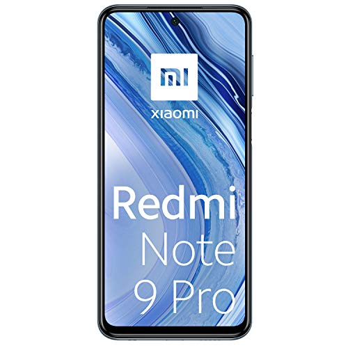 Xiaomi Redmi Note 9 Pro - Smartphone with FHD + 6.67 'DotDisplay screen (6 GB + 128 GB, 64 MP quad camera with AI, SnapdragonTM 720G, 5020 mAh battery) Gray [Version Española]