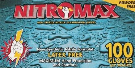 Nitromax Nitrile Powder-free Exam - Medium