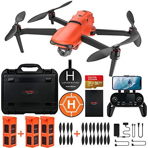 Autel Robotics EVO 2 Drone con 8K HDR Video, con Bundle Robusto e 429 Kit di Accessori del Valore (Manuale Utente Solo in Inglese)